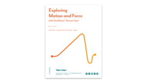 Exploring Motion and Force with Go Direct Sensor Cart book cover